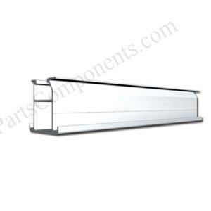 aluminium solar mounts rail for flat roof top