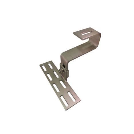 solar roof hooks height adjustable