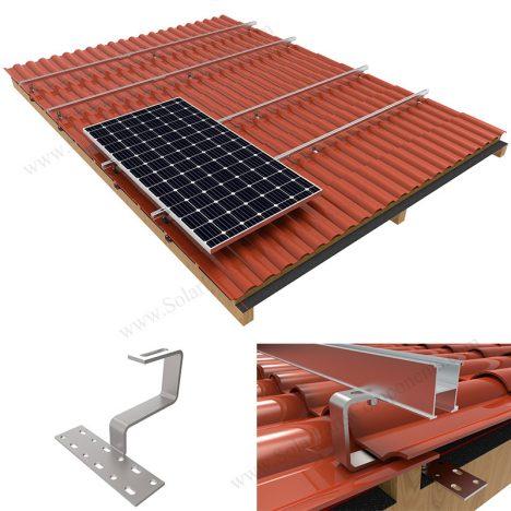 Solar Roman Tile Roof bracket