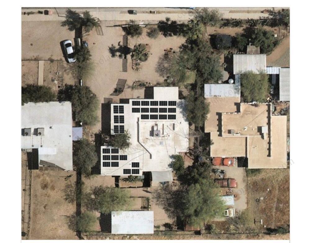 solar panel roof mounting design