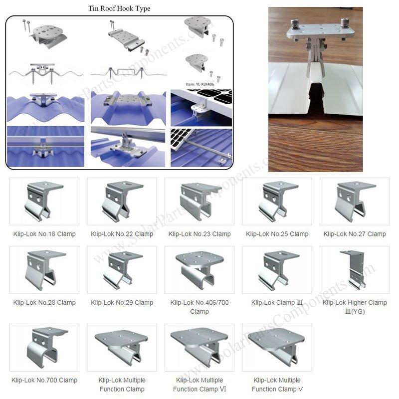 kliplok 406 tin roof sheet clamp