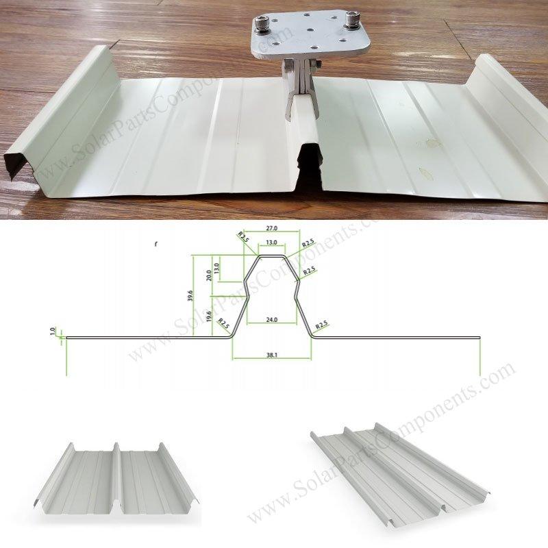 Kliplok 406 Metal Roofing Clamps