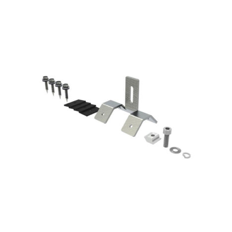 corrugated metal roofing clamps side mounting