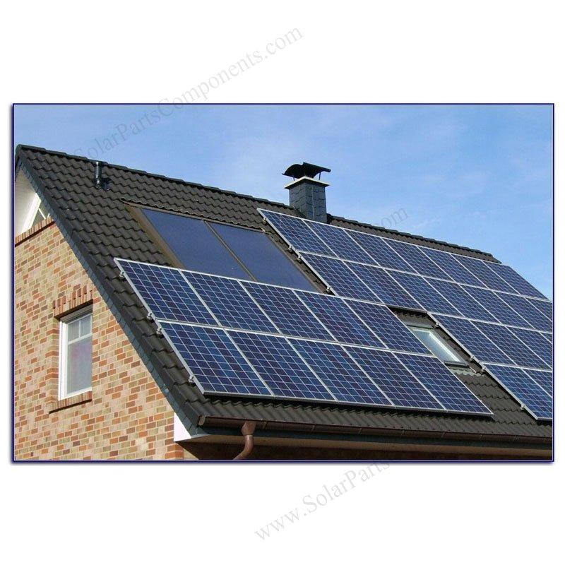 Universal Solar Roof Tile Hooks Double Adjustable For