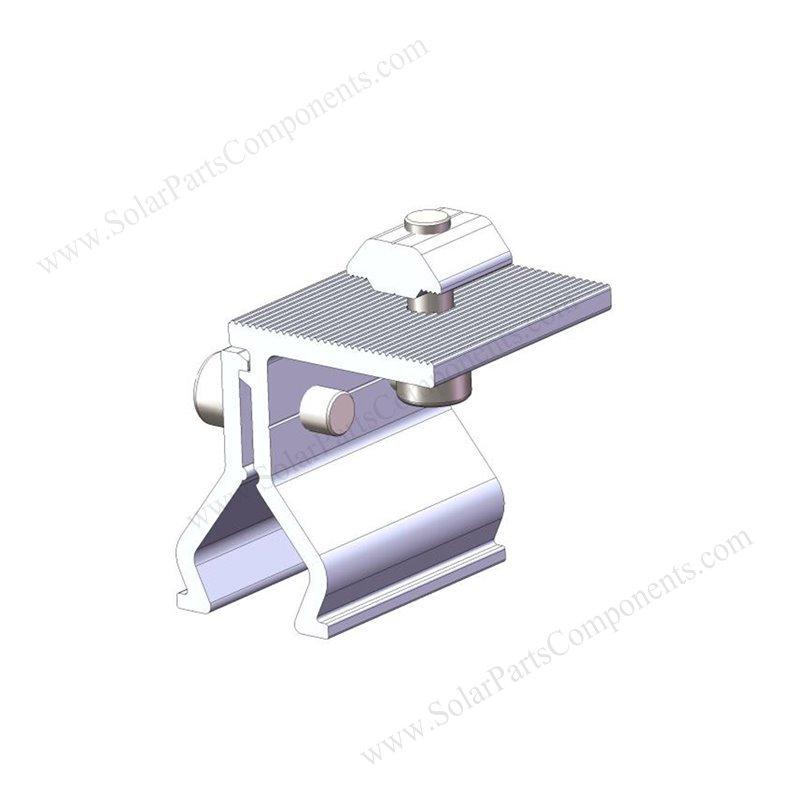 solar metal roof clamps sizes SPC-002