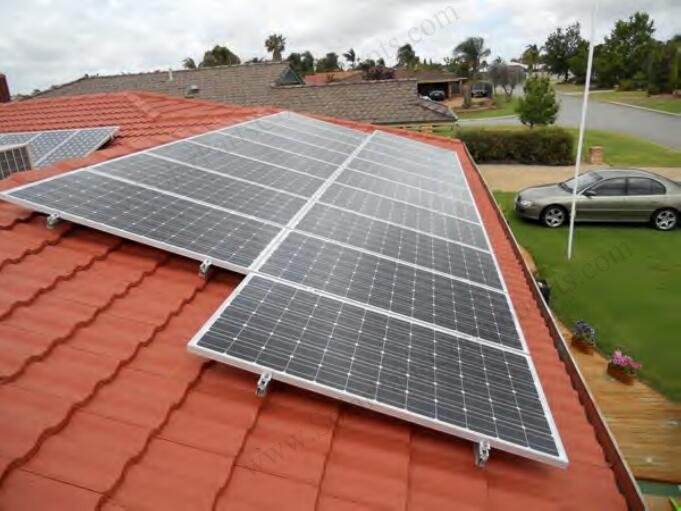 solar tile roof mounting fixtures