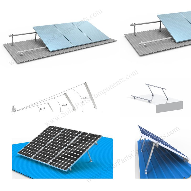 1x3 Adjustable Metal Roof Mounting System