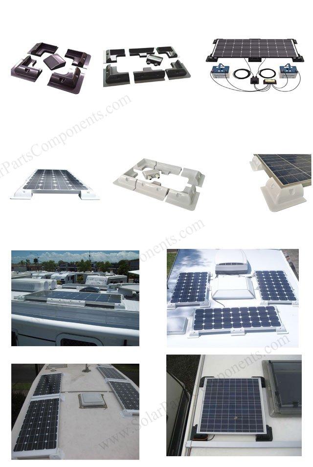 Solar panel mounting kits for Caravan, RV, Van, Campers ...