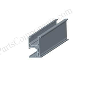 adjustable solar mounting for metal roof rails