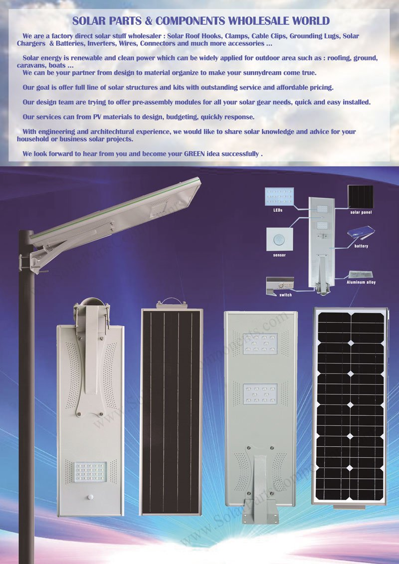 all-in-one solar street lights series