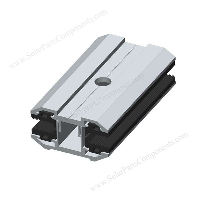 Aluminum Mid Clamps For Frameless Solar Panel Mounting