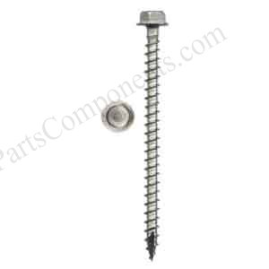 Hex Washer Head solar mounting timber screws