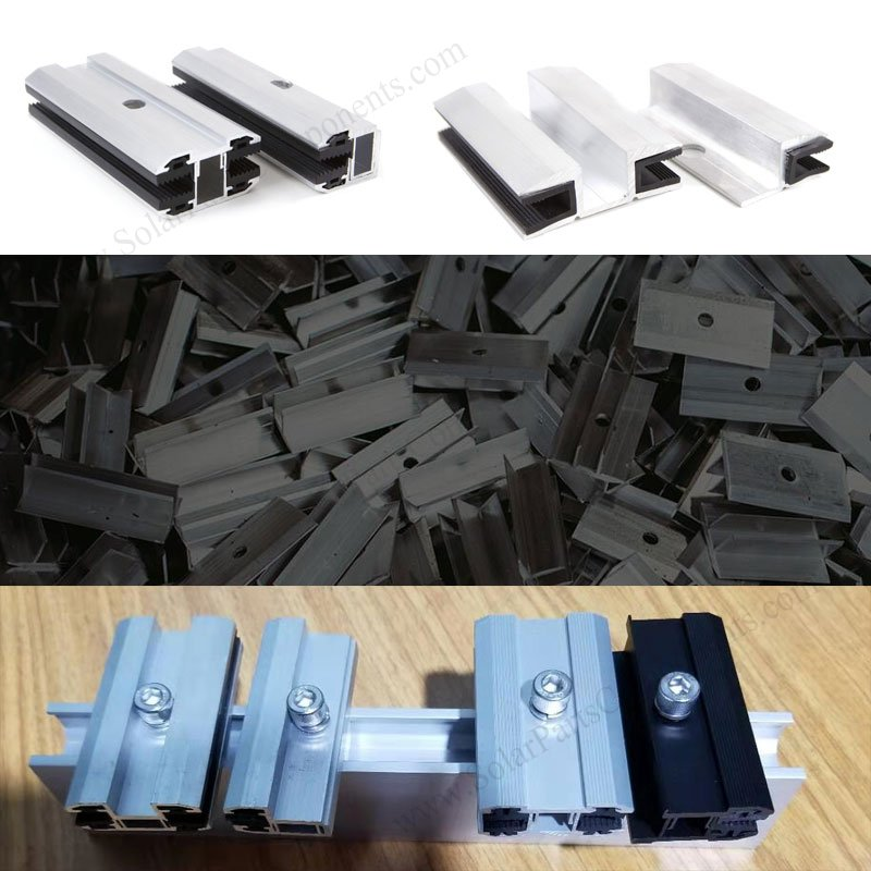 laminate solar panel mid clamps,laminate solar panel end clamps,