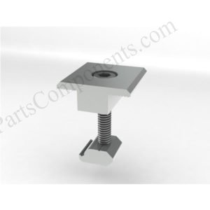 Mid Clamp Solar Curved Tile Roof Mounting Systems Side Mounted