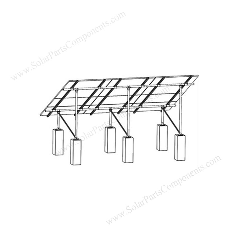 Aluminum Solar Grounding Mounting Systems Quot N Quot Type