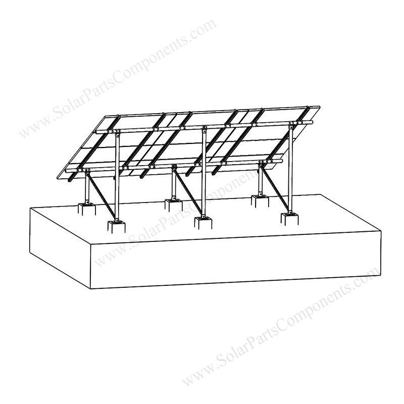 aluminum solar grounding mounting systems
