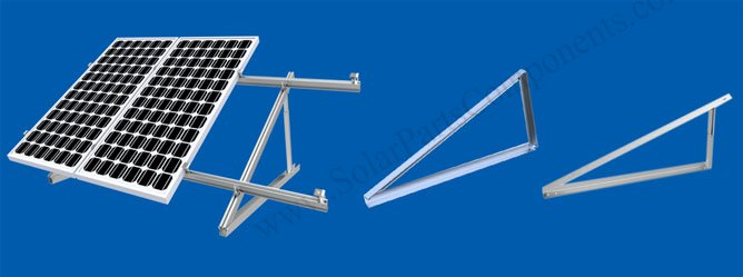 Tripod Ballasted Solar Flat Roof Mounting Systems