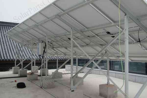 solar ground mounting system case N type