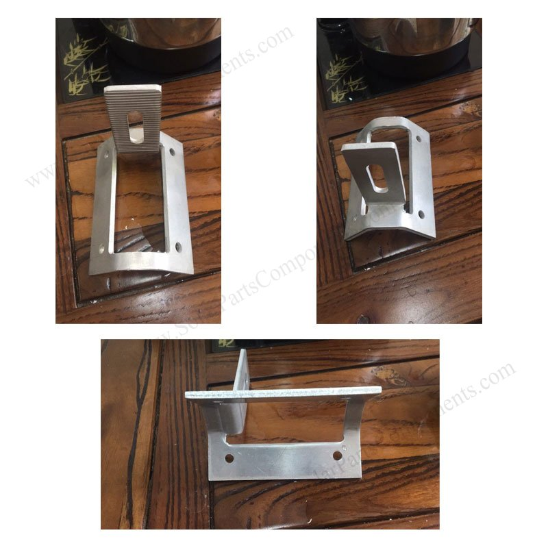 Size & Profile for one side mount trapezoid metal roof clamp