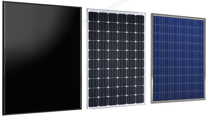 Mono / Poly / Thin-film crystalline PV solar panel modules