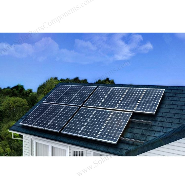 Off-Grid-Solar Roof Mounting System.