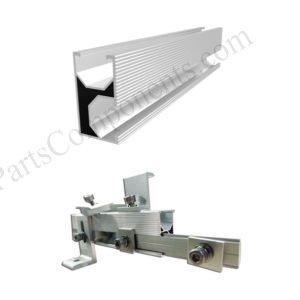 PV module mounting rails SPC-001