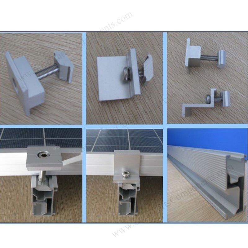Solar Mounting Rails Spc R001 For Solar Panel Installation