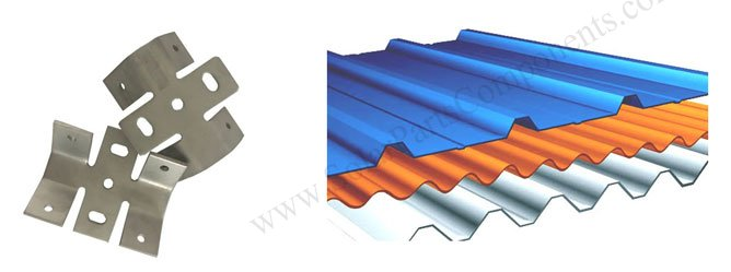 trapezoid metal roof bottom mount clamp drawings