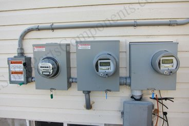 solar pv power system meters