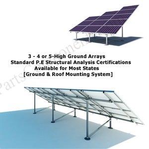 solar panel ground racking