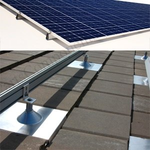 solar panel roof mounting