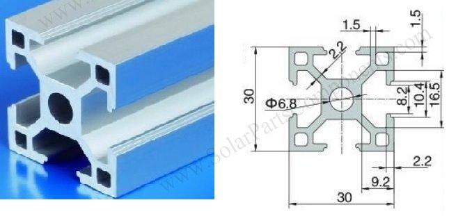 3030 aluminum extrusion profile