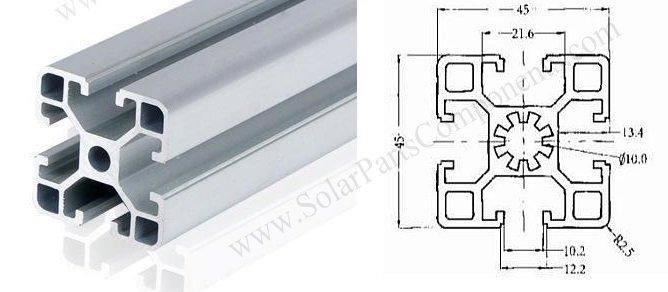 4545 aluminum extrusion profile