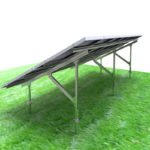 Q235 solar ground mounting structure