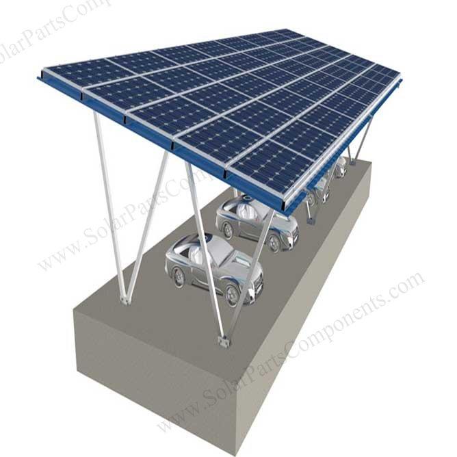 Solar Carport Designs Residential Outdoor 4 Vehicles 350 Wp Solar Panels 14 Kw Usa