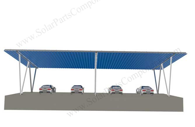 solar carport designs 4 cars