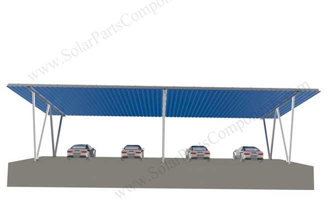 solar carport designs 4 cars