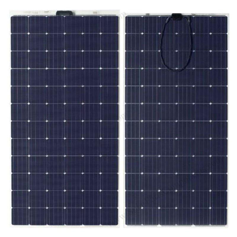 Frameless PV module , thin film solar panels installation