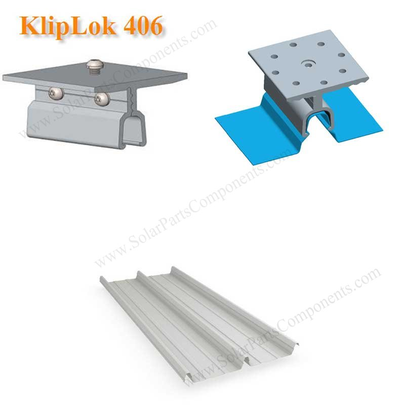 klip lok solar clamp for Lysaght roofing