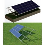 Hot-dipped ground mounting system- A type