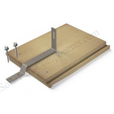 solar panel roof hooks for flat / asphalt tiles