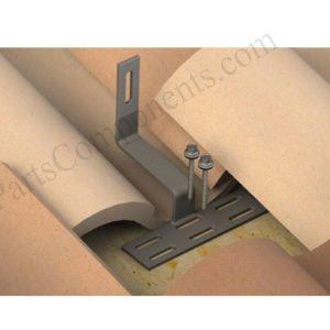 solar panel roof hooks for Spanish / Roman / Curved tiles