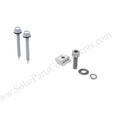 customized solar roof hooks for flat tile mounting parts
