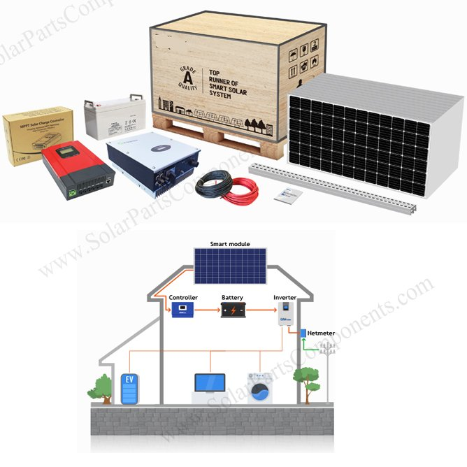 solar power systems for home 8KW