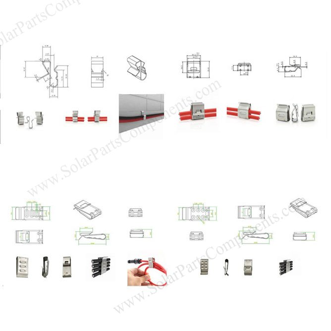 solar cable clip series