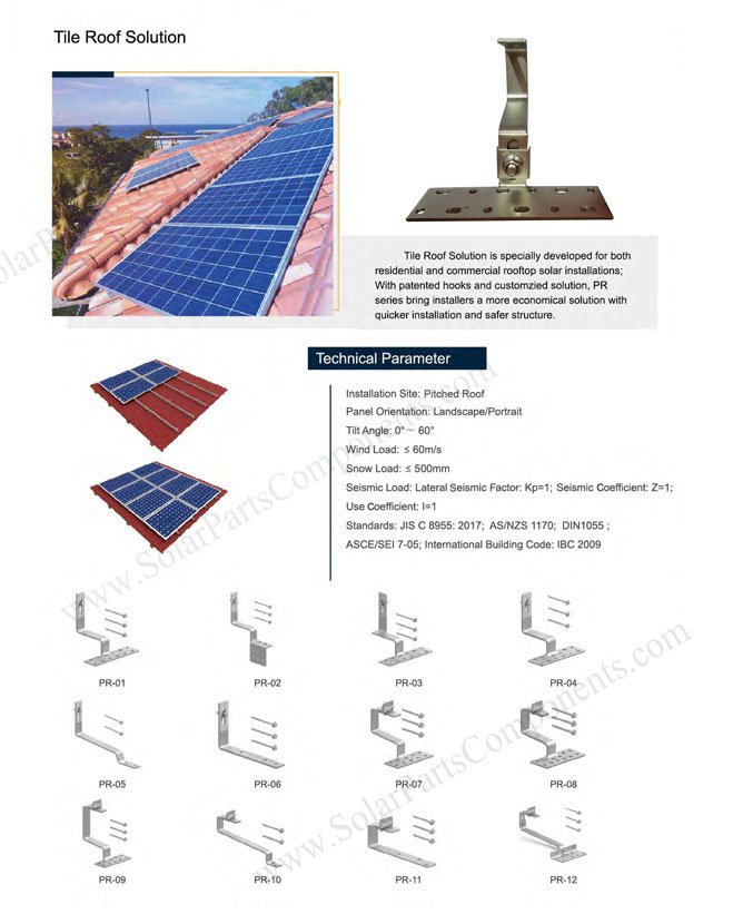 Solar Roof hook series