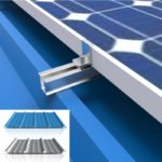 solar metal roof mounts U Rail