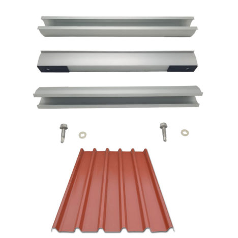 trapezoidal metal roofing brackets - U style