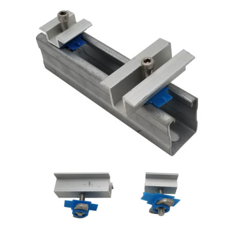solar panel carbon steel mid clamps