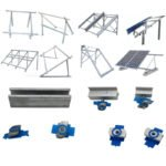 solar mid clamps for square steel